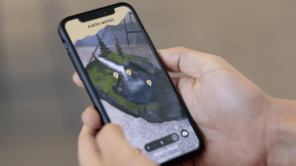 Earth Moves AR App