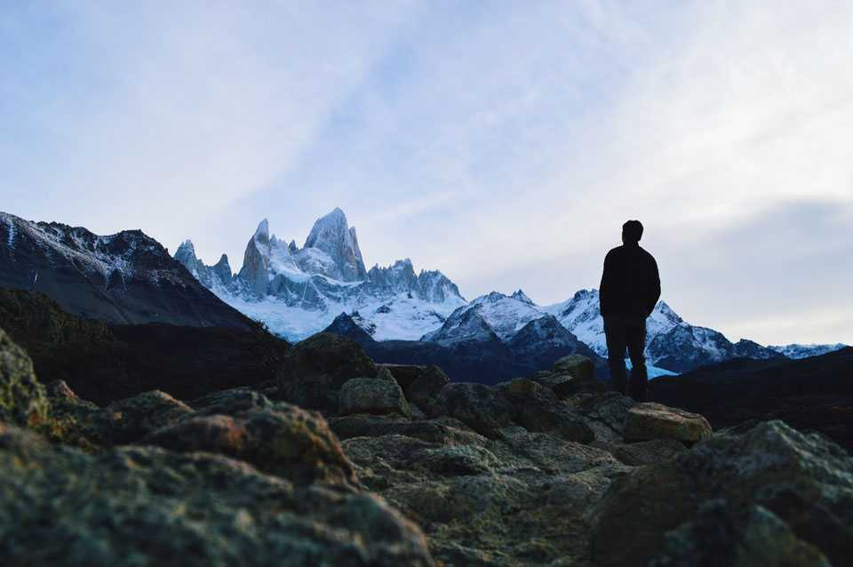 The majestic Cerro Fitz Roy